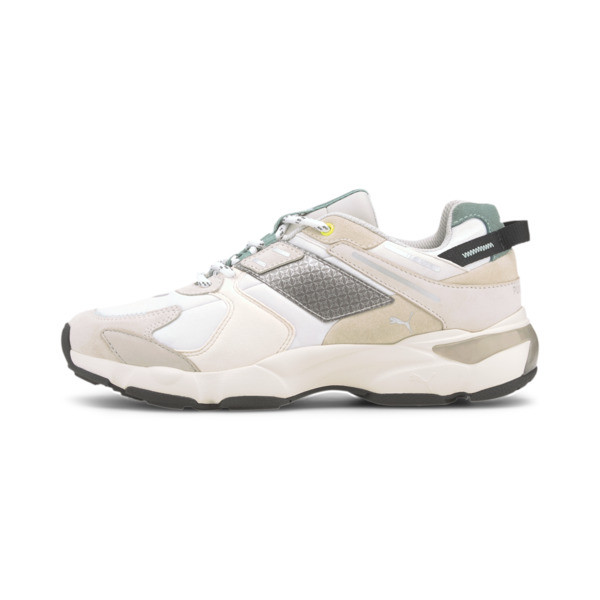 puma x helly hansen lqdcell extol sneakers in glacier grey/whisper white, size 12