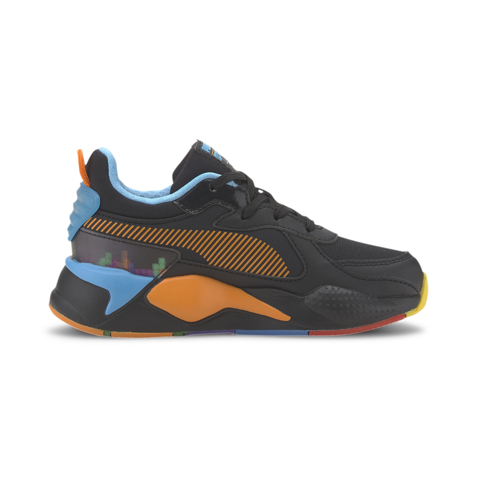 PUMA-PUMA-x-TETRIS-RS-X-Little-Kids-039-Shoes-Kids-Shoe-Kids thumbnail 6