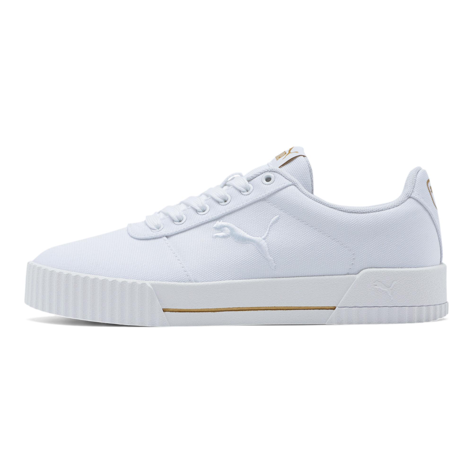 PUMA-Women-039-s-Carina-Summer-Cat-Sneakers thumbnail 4