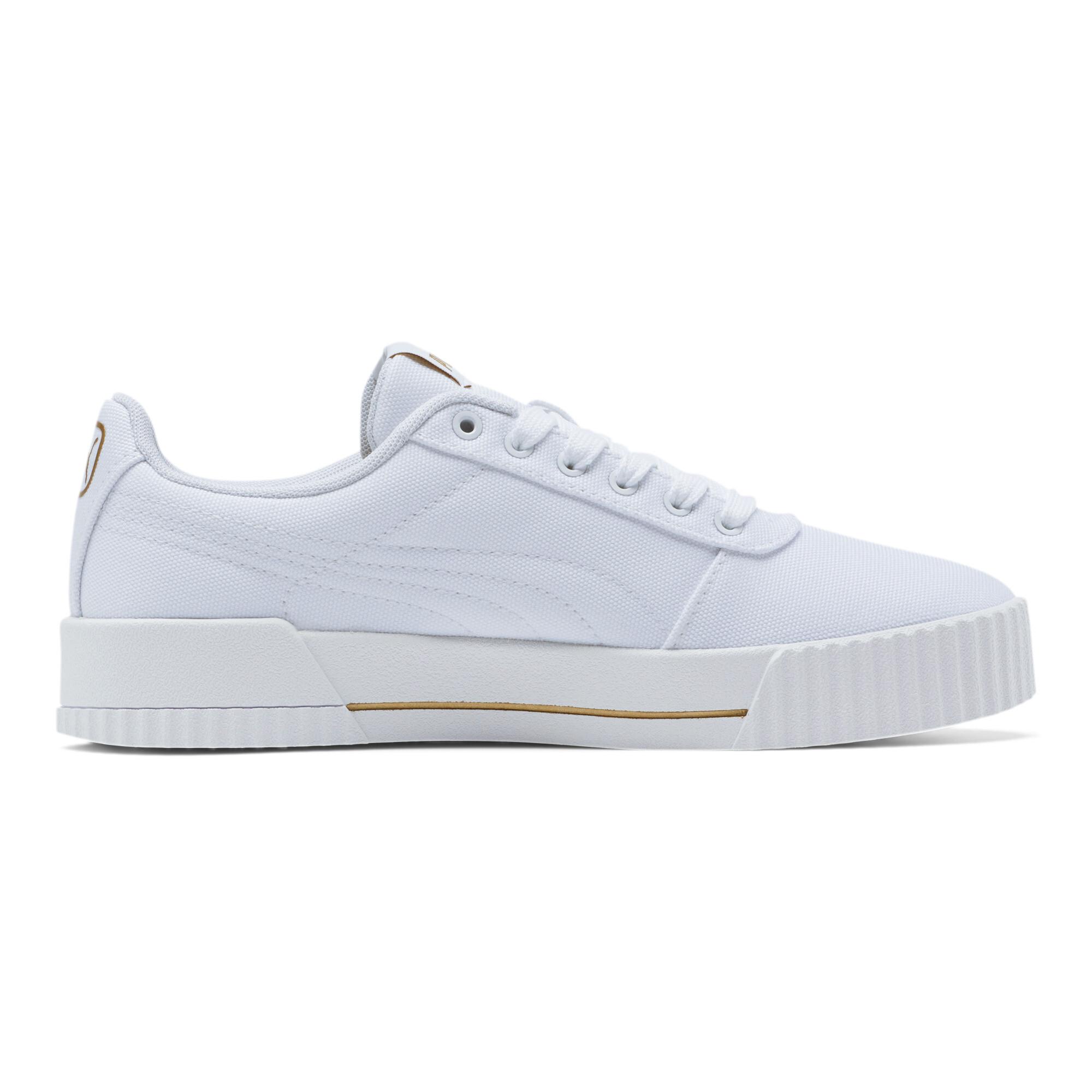 PUMA-Women-039-s-Carina-Summer-Cat-Sneakers thumbnail 6