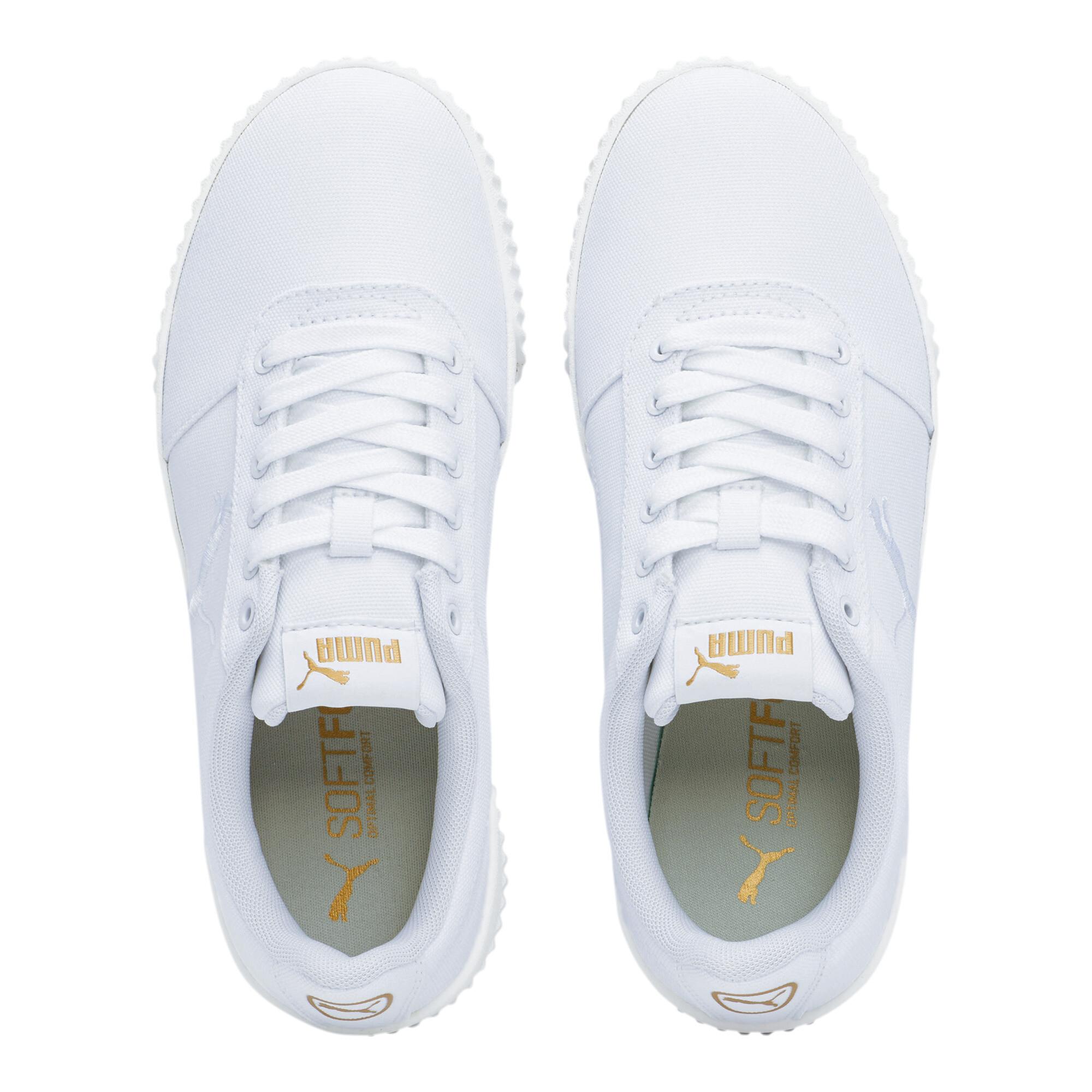 PUMA-Women-039-s-Carina-Summer-Cat-Sneakers thumbnail 7