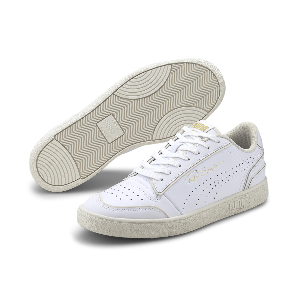 Image Puma Ralph Sampson Lo Perforated Outline Trainers #2