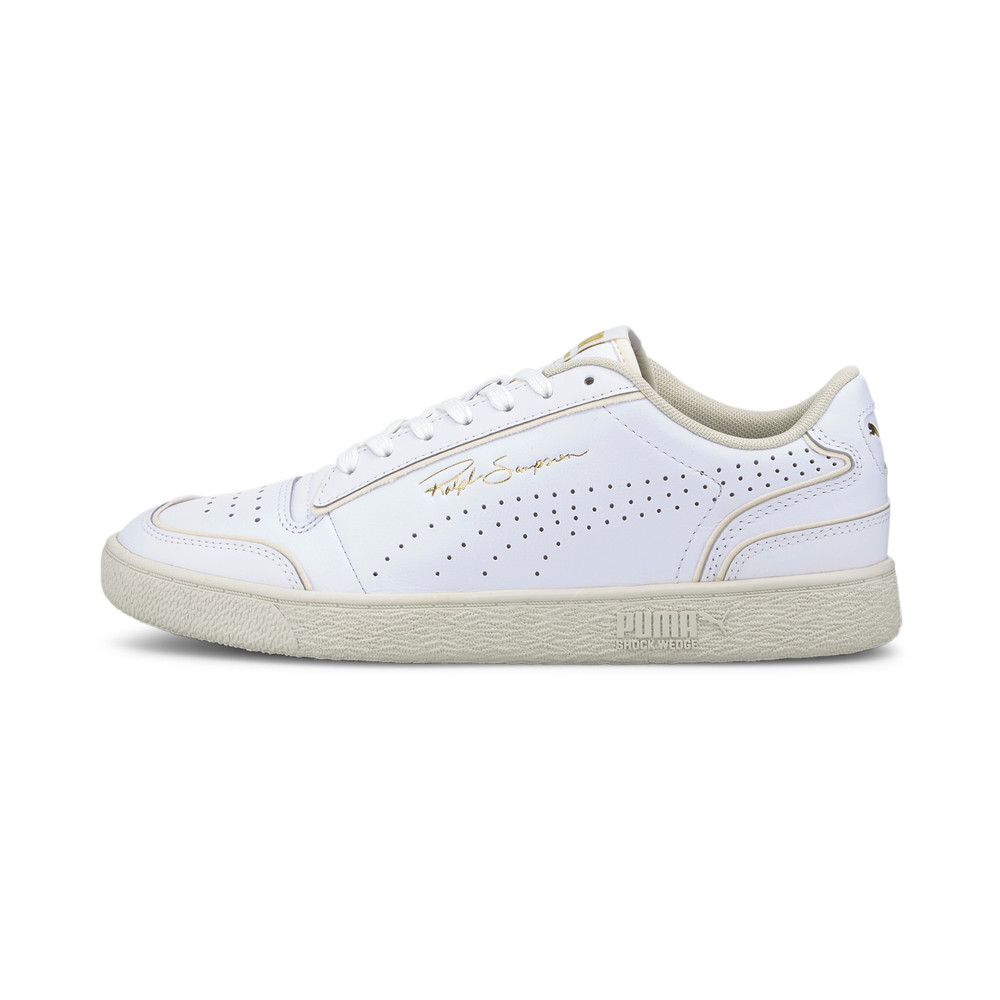 Image Puma Ralph Sampson Lo Perforated Outline Trainers #1