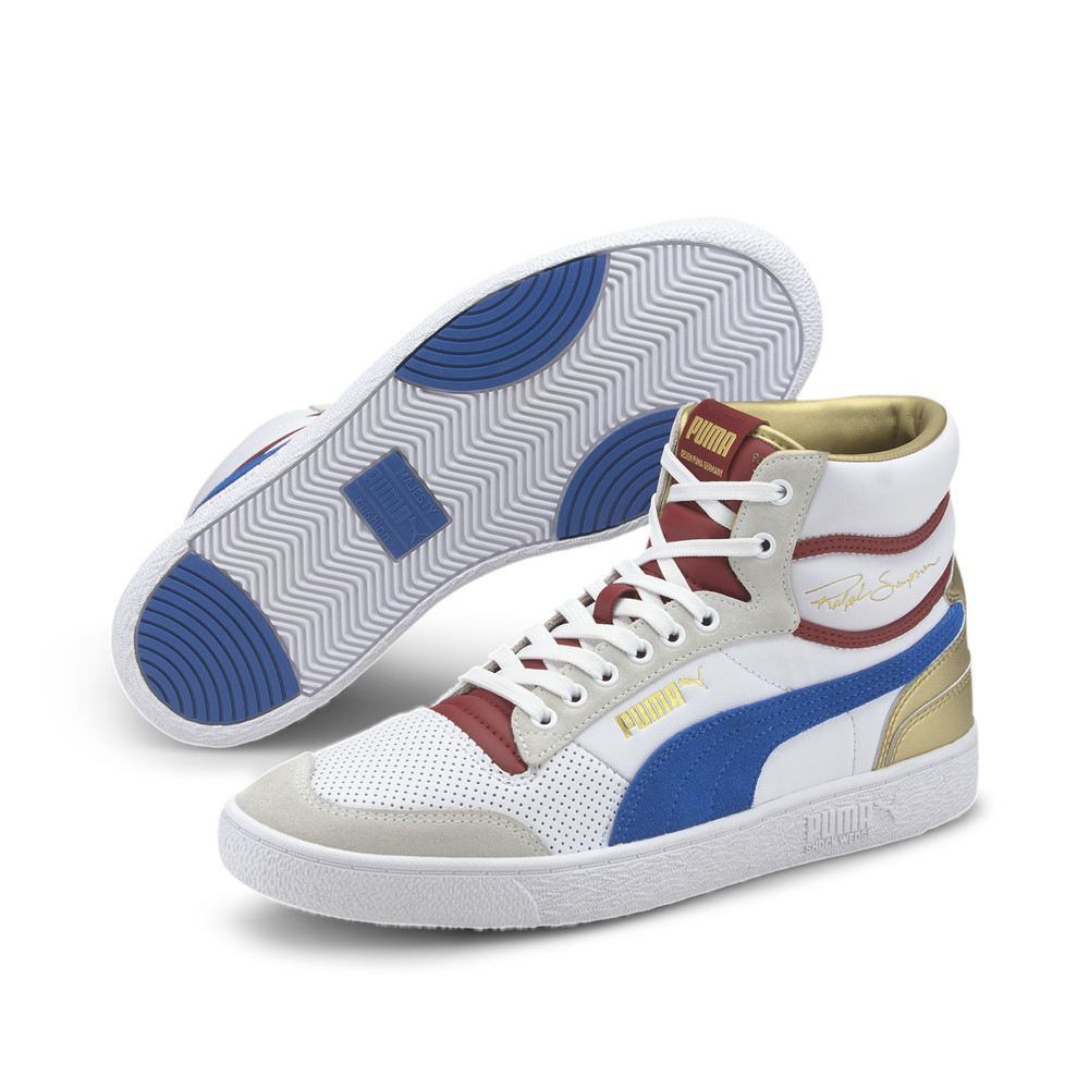 Image PUMA Ralph Sampson Royal Mid-Top Sneakers #2