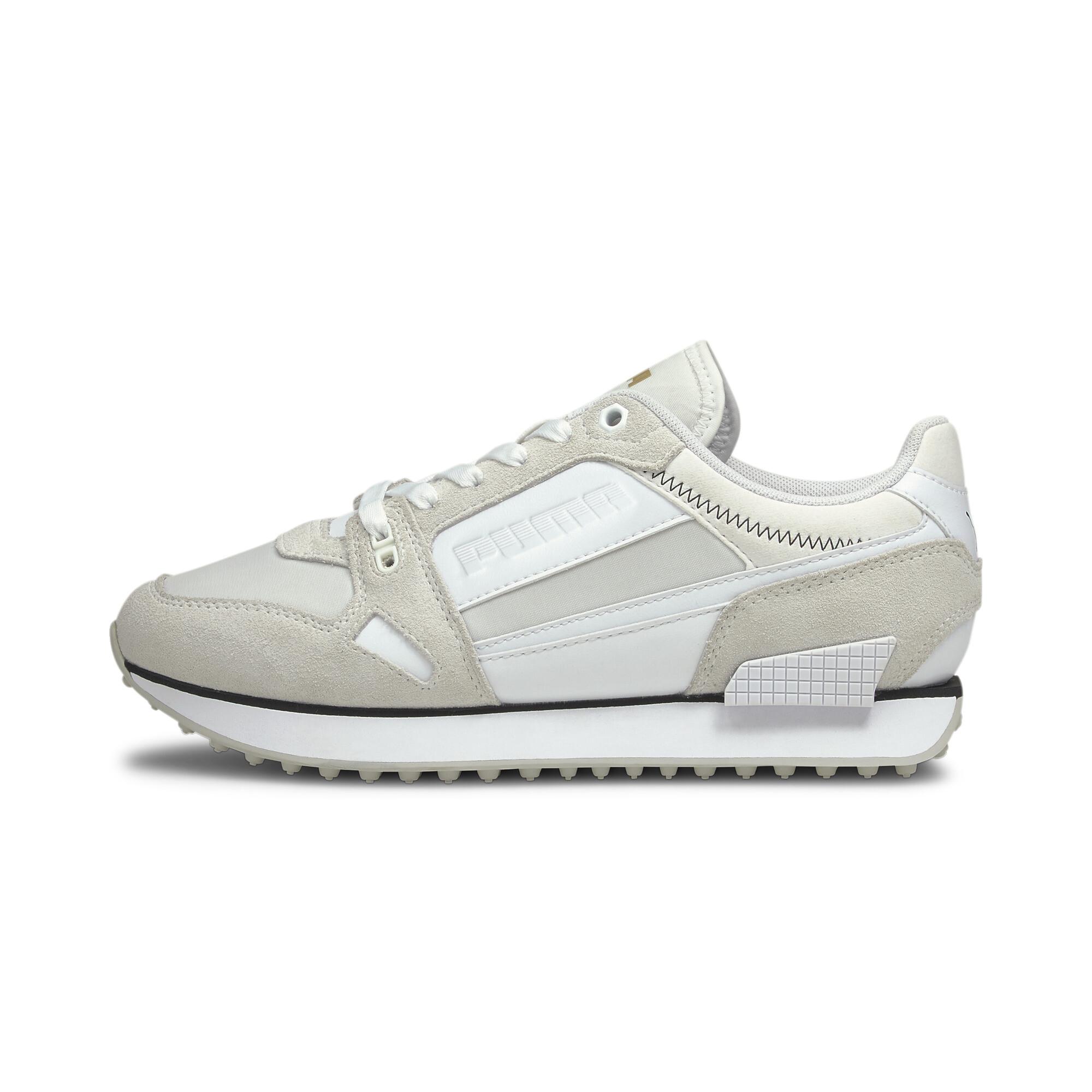 Indexbild 10 - PUMA Mile Rider Chrome Desert Damen Sneaker Frauen Schuhe Neu