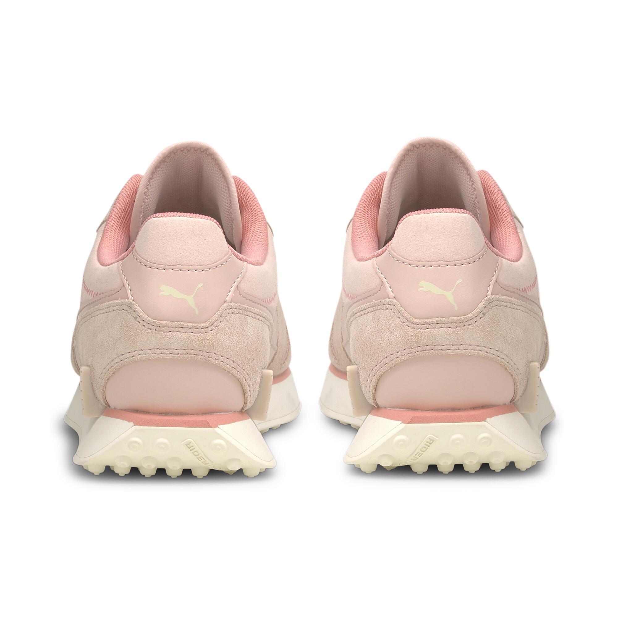 Indexbild 3 - PUMA-Mile-Rider-Chrome-Desert-Damen-Sneaker-Frauen-Schuhe-Neu