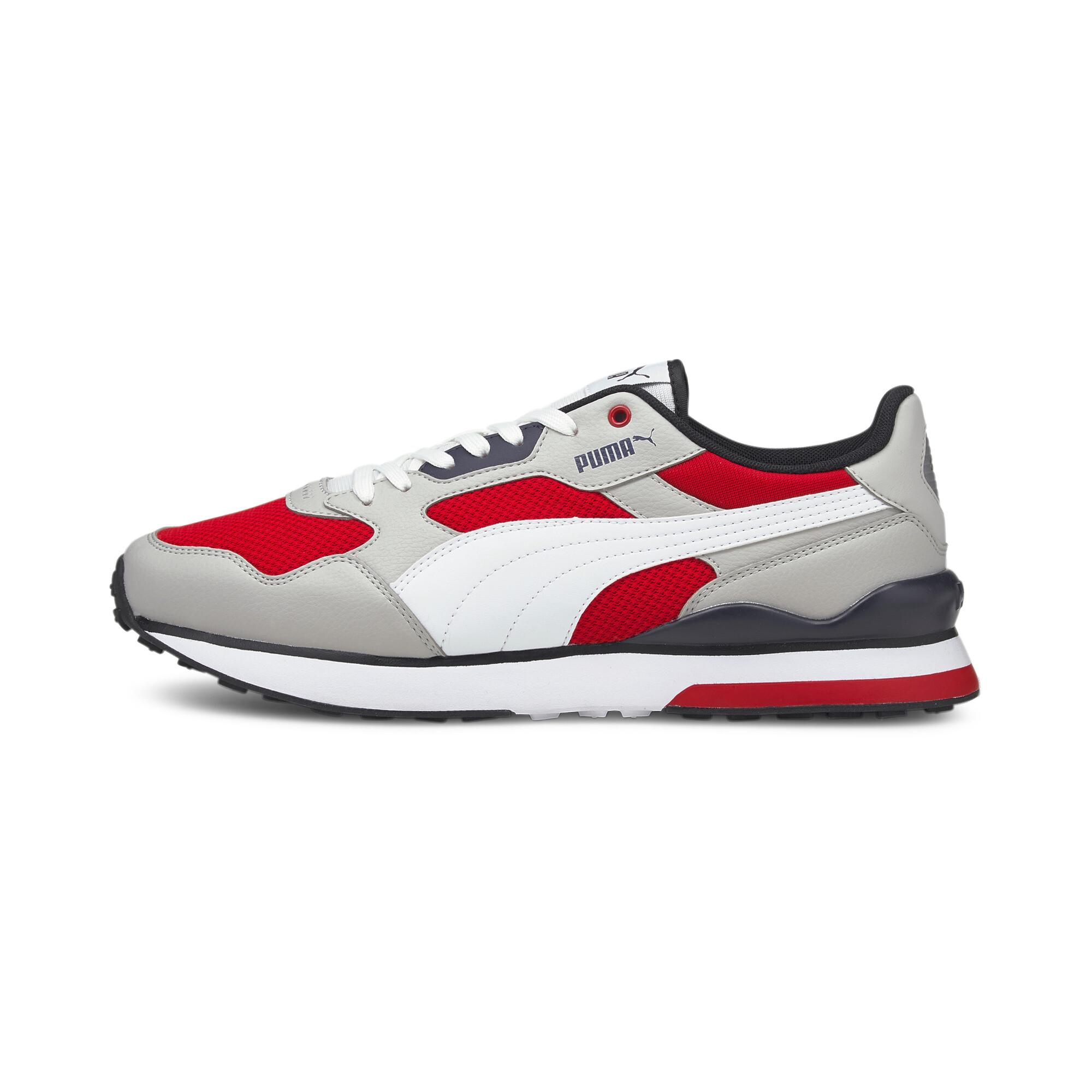Gray-White-High Risk Red