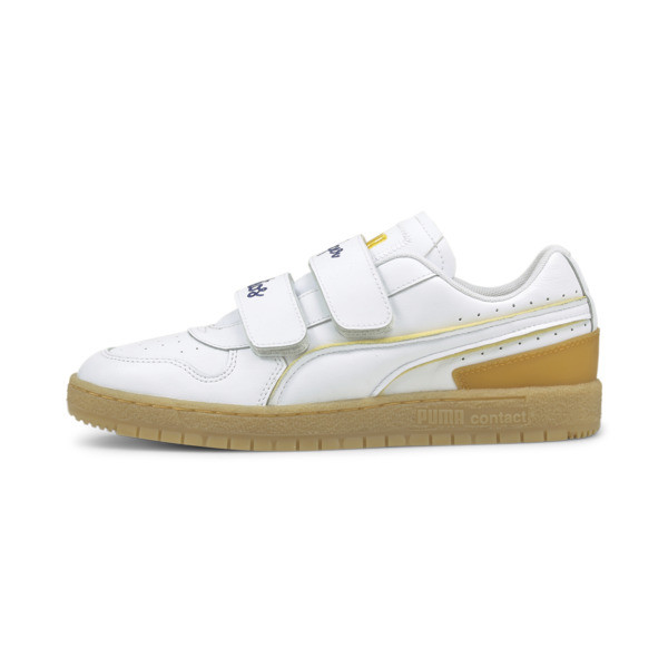 puma x kidsuper studios ralph sampson 70 sneakers in white, size 9.5