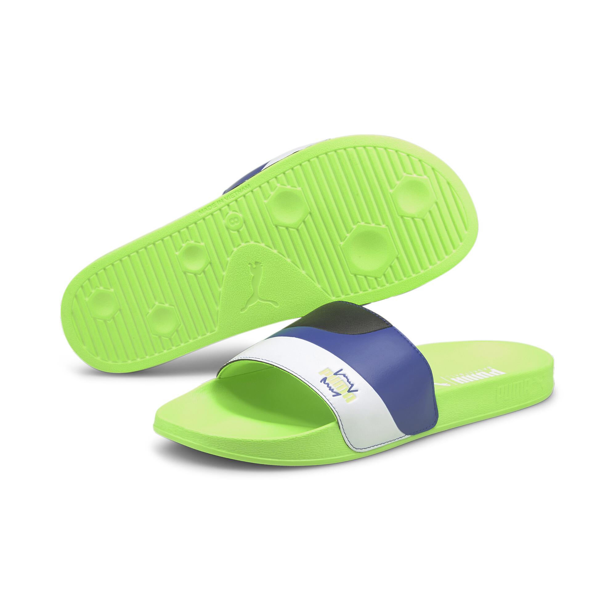 【プーマ公式通販】 プーマ リードキャット FTR BB サンダル ユニセックス ユニセックス Green Glare-Surf The Web |PUMA.com