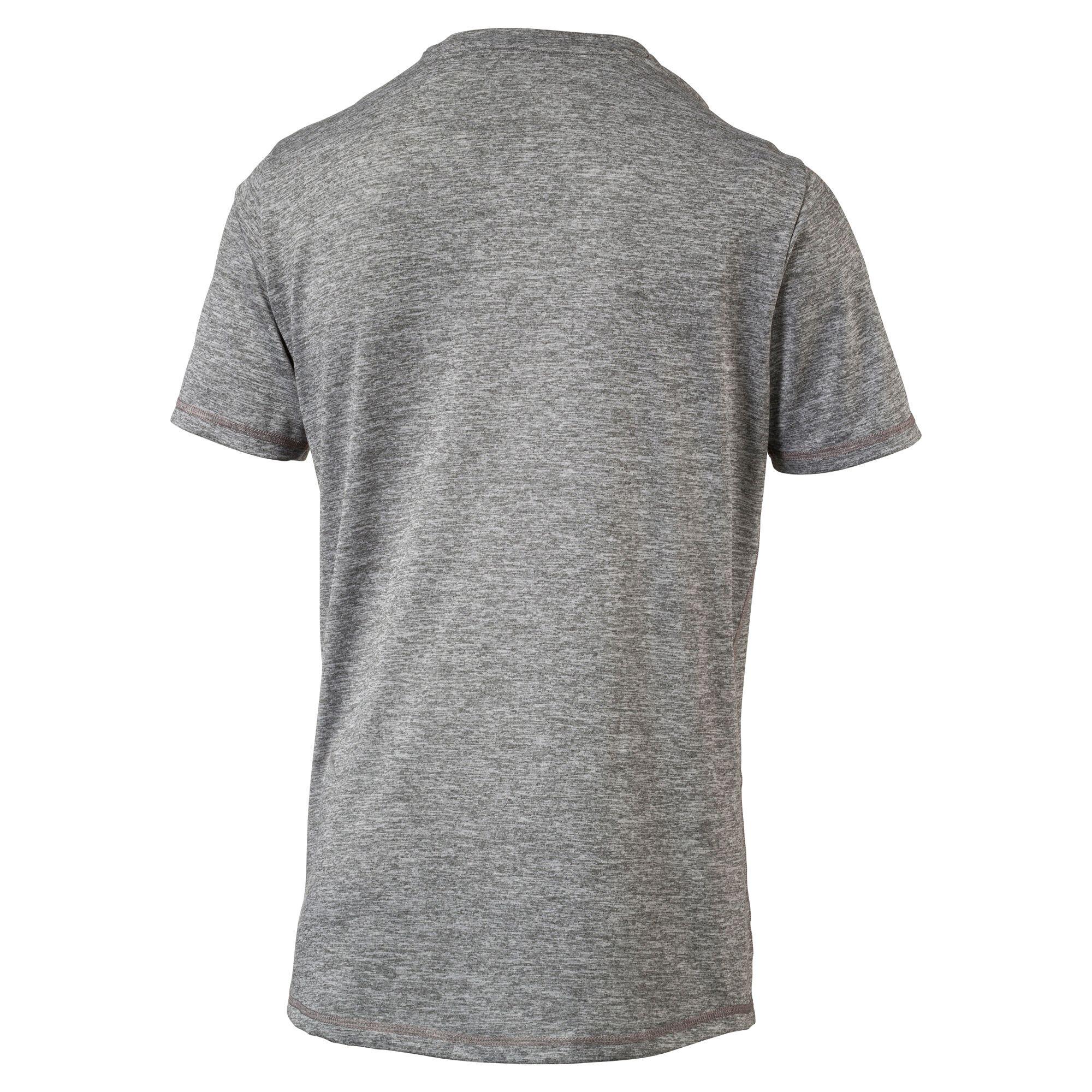 Image Puma Men's Training Essential Puretech Heather T-Shirt #2
