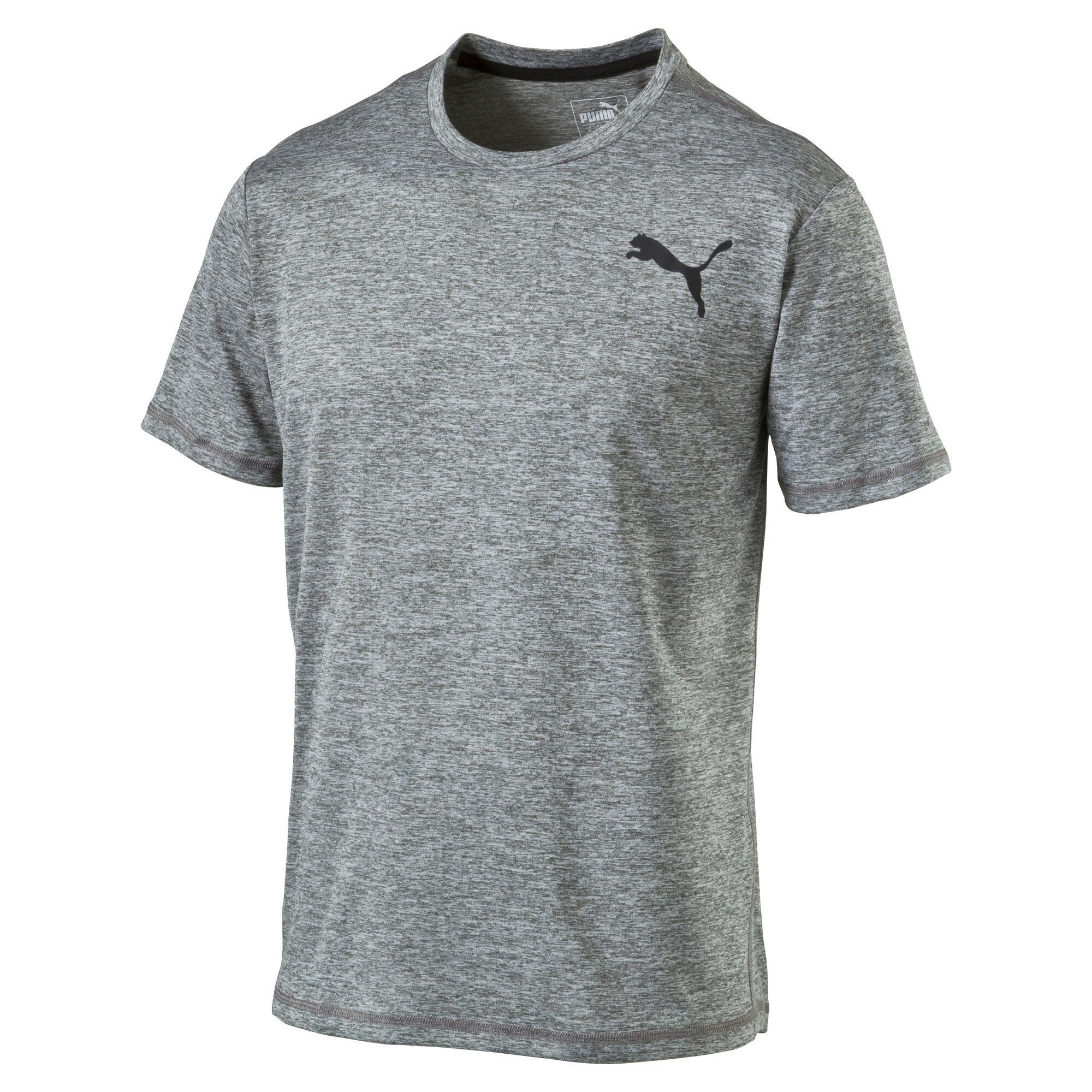 Image Puma Men's Training Essential Puretech Heather T-Shirt #1
