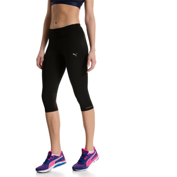 Running Women's 3/4 Tights, Puma Black, large