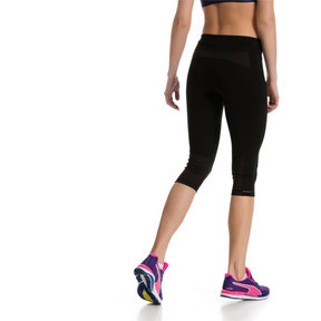 Thumbnail 3 of Running Women's 3/4 Tights, Puma Black, medium