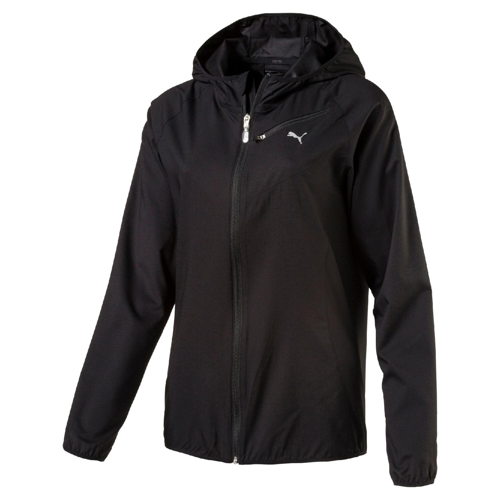 Image Puma Core-Run Hooded Women's Running Jacket #1