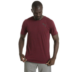 Thumbnail 2 of Active Training Herren Dri-Release® Novelty T-Shirt, Tibetan Red Heather, medium