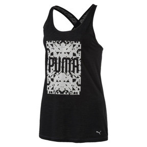 Thumbnail 1 of Training Women's Essential Dri-Release® Tank Top, Puma Black Heather, medium