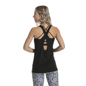 Thumbnail 3 of Training Women's Essential Dri-Release® Tank Top, Puma Black Heather, medium