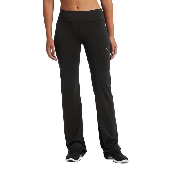 Fitness Essential Straight Leg Tights, Puma Black, large