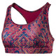 Training Women's PWRSHAPE Forever Graphic Padded Crop Top, paradise pink-Euphoria prt, small-IND