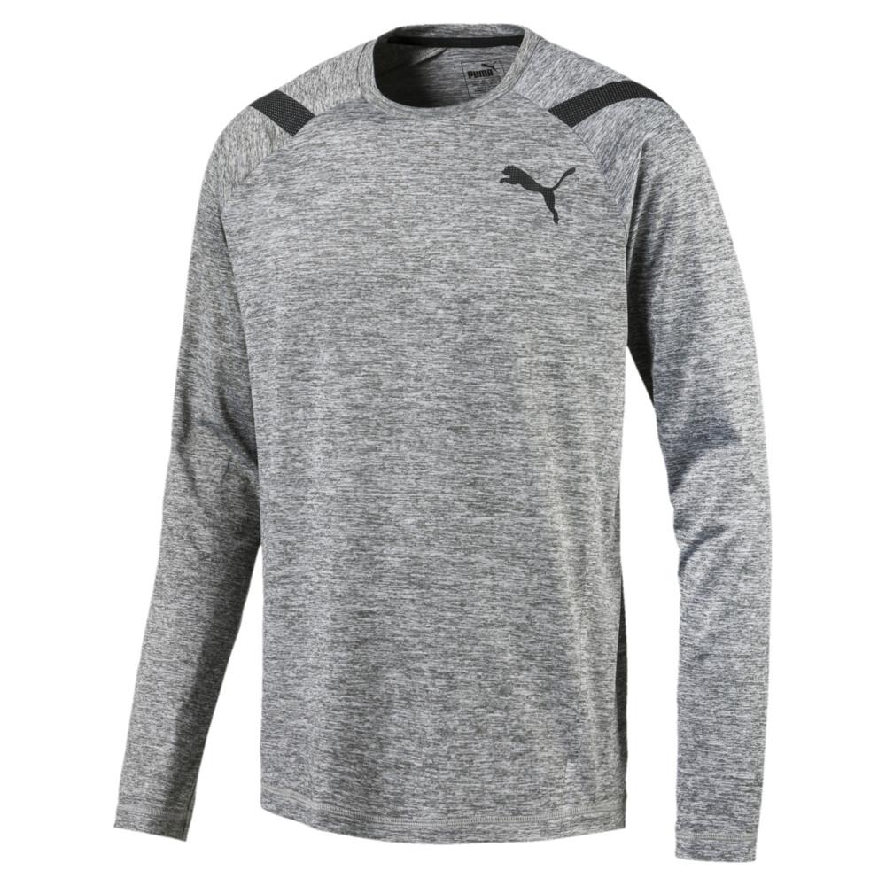 Görüntü Puma ACTIVE TRAINING Bonded Tech Uzun Kollu Erkek T-shirt #1