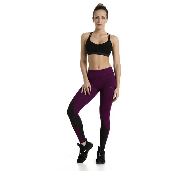 Training Women's Yogini Lux Strappy Bra, Puma Black, large