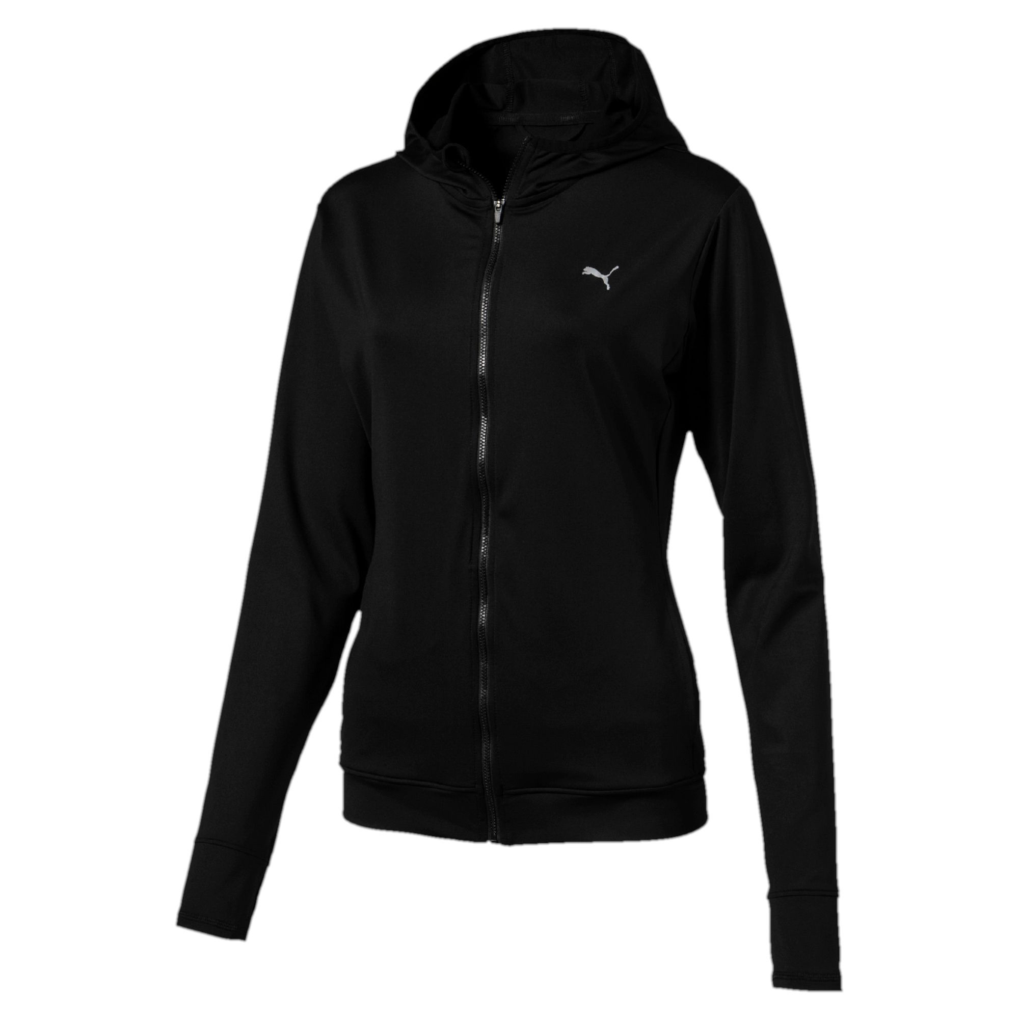 Image Puma Women's Training Essential Hooded Jacket #1
