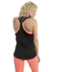 Thumbnail 3 of Active Training Women's Boyfriend Tank Top, Puma Black Heather, medium