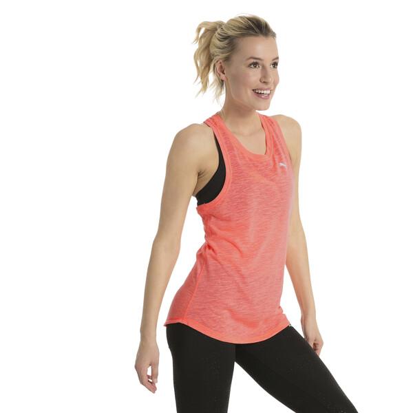 Camiseta de tirantes estilo boyfriend de mujer Active Training, Nrgy Peach Heather, grande
