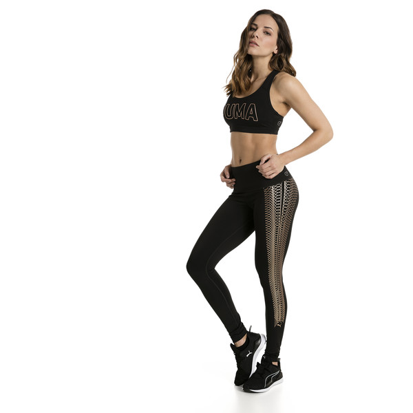 0bd646d6f384d Active Training Women's Everyday Train Graphic Tights, Puma Black-Copper  lacing prt, large. ‹ ›