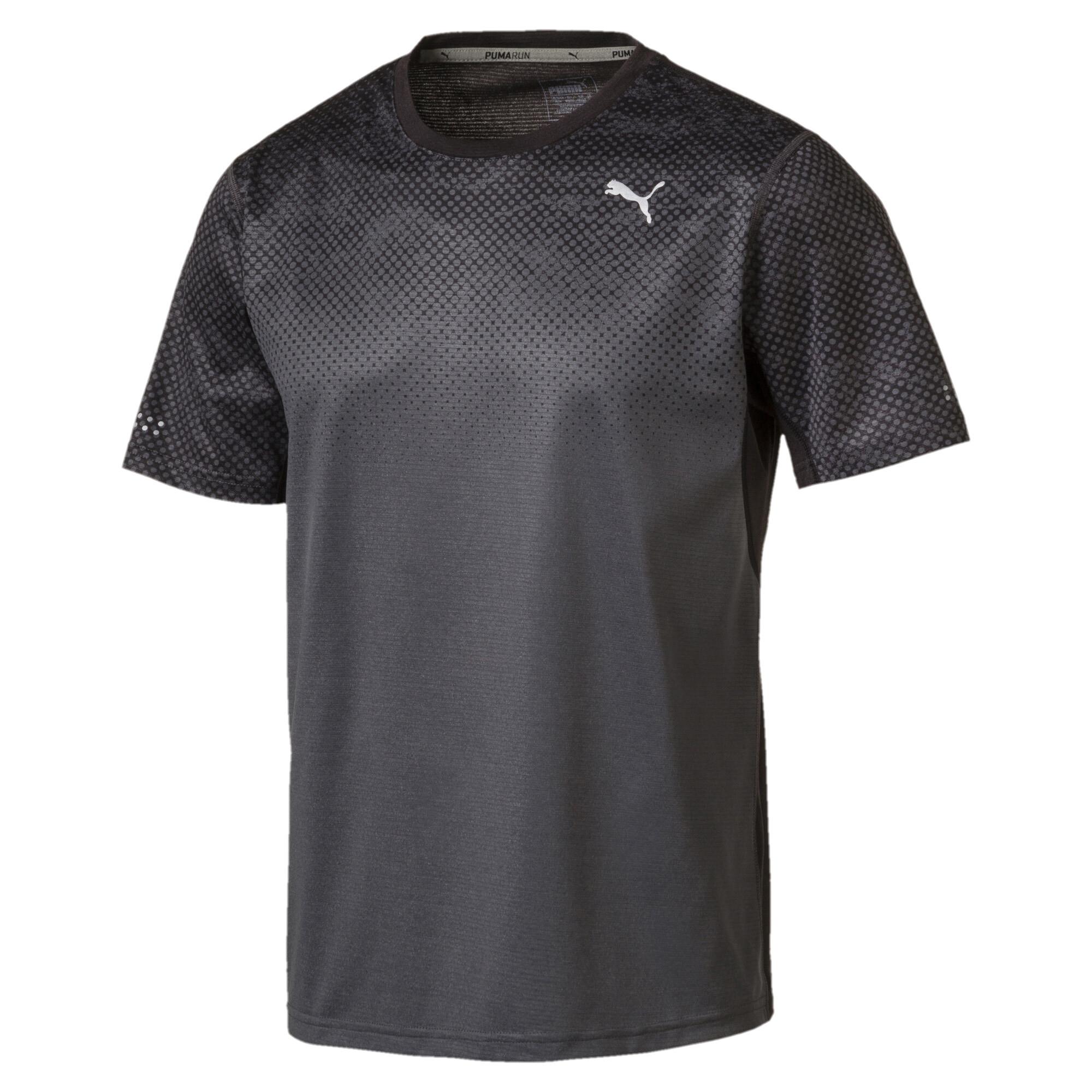 Image Puma Men's Graphic Short Sleeve Running T-Shirt #1