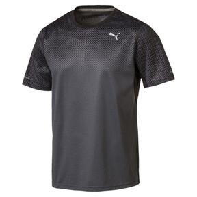 Thumbnail 1 of Graphic Short Sleeve Men's Running T-Shirt, Puma Black-Asphalt, medium