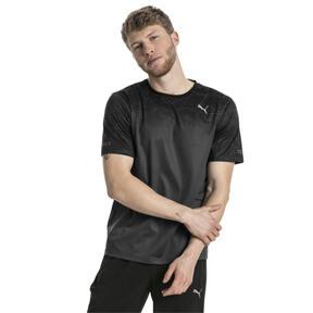 Thumbnail 2 of Graphic Short Sleeve Men's Running T-Shirt, Puma Black-Asphalt, medium