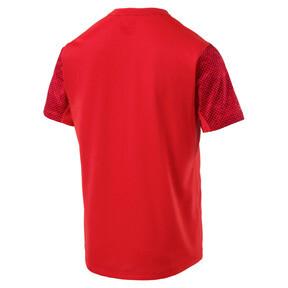 Thumbnail 4 of Graphic Short Sleeve Men's Running T-Shirt, Flame Scarlet, medium