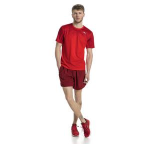 Thumbnail 5 of Graphic Short Sleeve Men's Running T-Shirt, Flame Scarlet, medium