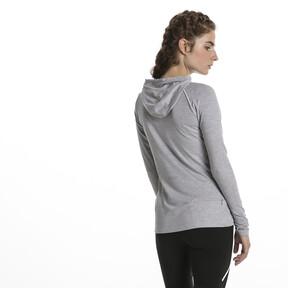 Thumbnail 3 of Run Women's Long Sleeve Hoodie, Light Gray Heather, medium