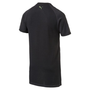 Thumbnail 3 of evoKNIT Men's T-Shirt, Puma Black Heather, medium