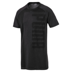 Thumbnail 1 of evoKNIT Men's T-Shirt, Puma Black Heather, medium