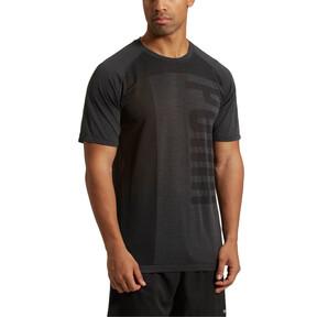 Thumbnail 2 of evoKNIT Men's T-Shirt, Puma Black Heather, medium