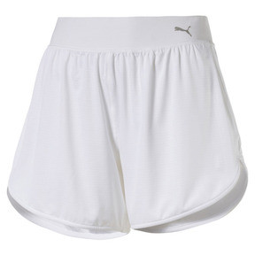 Thumbnail 1 of En Pointe Women's Long Training Shorts, Puma White, medium