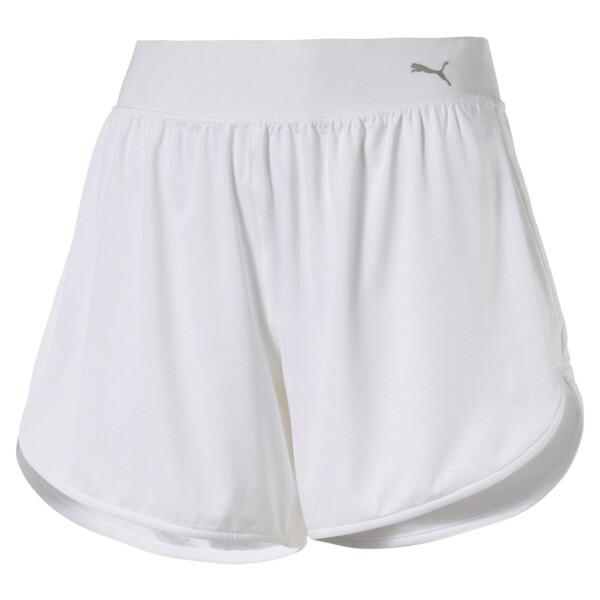 En Pointe Women's Long Training Shorts, Puma White, large