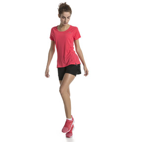 Thumbnail 5 of Core-Run Short Sleeve Women's Training Top, Paradise Pink, medium