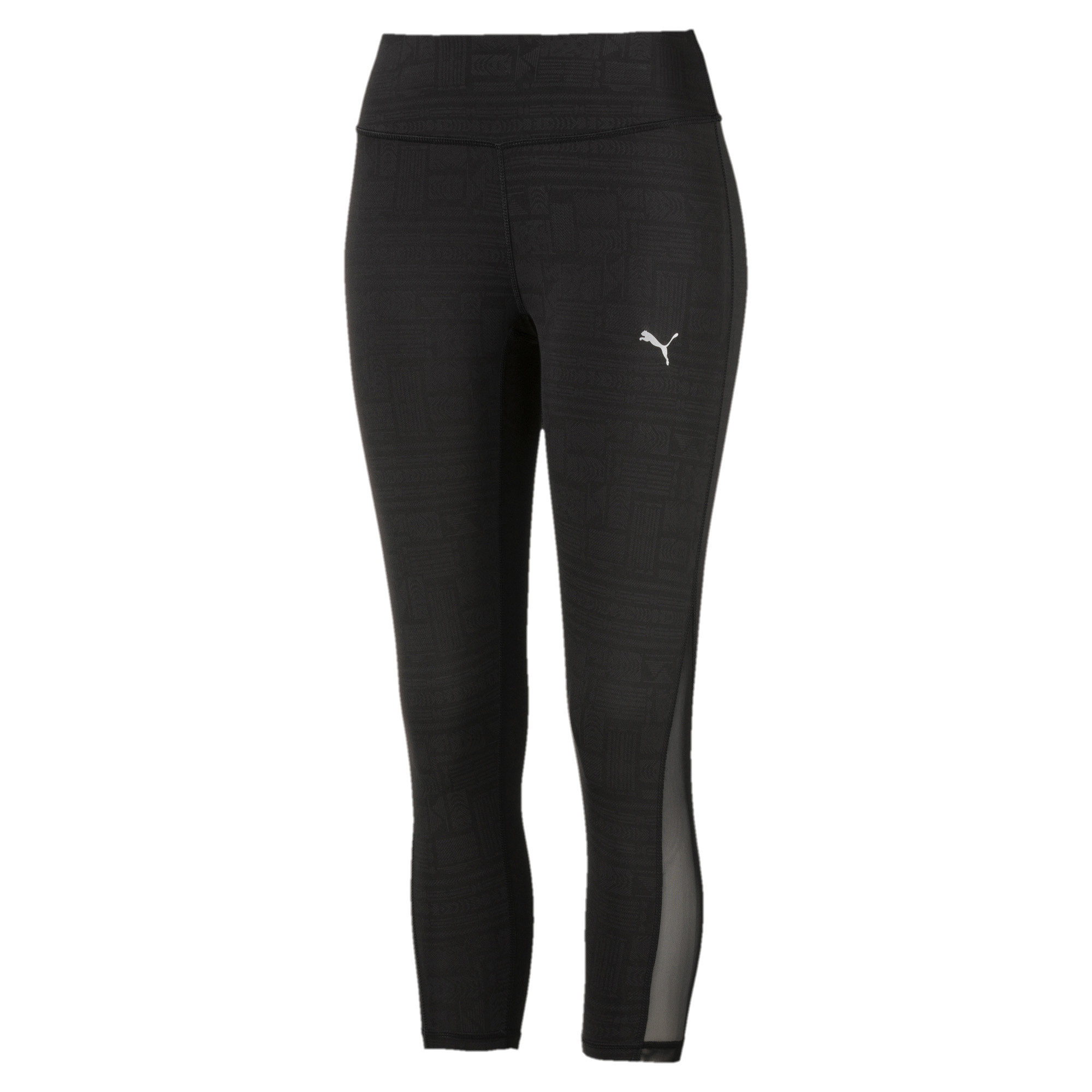 Image Puma Women's ALL EYES ON ME MESH 3/4 Training Tights #1