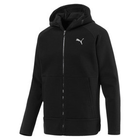 Thumbnail 1 of BND Tech Protect Zip-Up Hooded Men's Jacket, Puma Black, medium