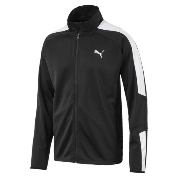 Energy Blaster Jacket, Puma Black-Puma White, large