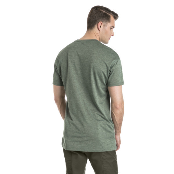 Training Men's Energy T-Shirt, Laurel Wreath Heather, large