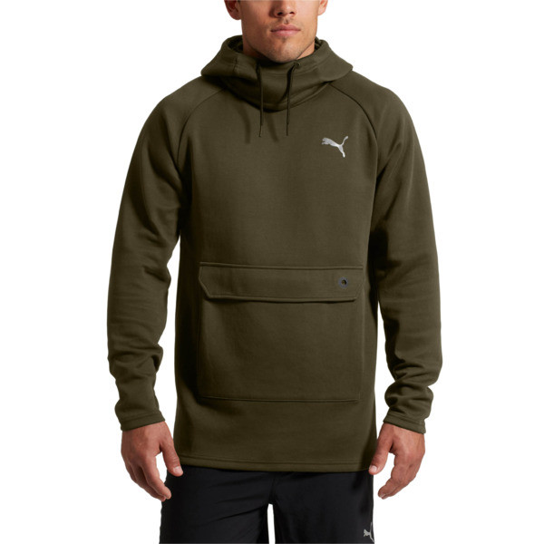 BND Tech Dual Pullover, Forest Night, large