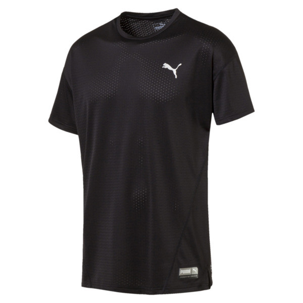 A.C.E. Short Sleeve Men's Training Top, Puma Black, large
