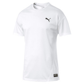 Thumbnail 5 of A.C.E. Short Sleeve Men's Training Top, Puma White, medium