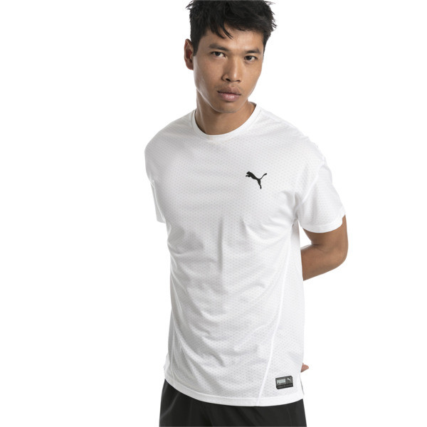 A.C.E. Short Sleeve Men's Training Top, Puma White, large