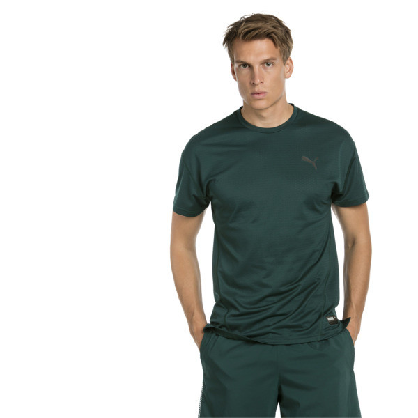 A.C.E. Short Sleeve Men's Training Top, Ponderosa Pine, large